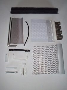 Fly Screen Components at www.emeraldflyscreens.co.uk