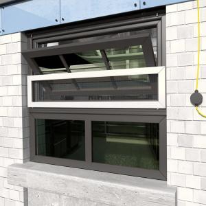 Centre Pivot Window Screen